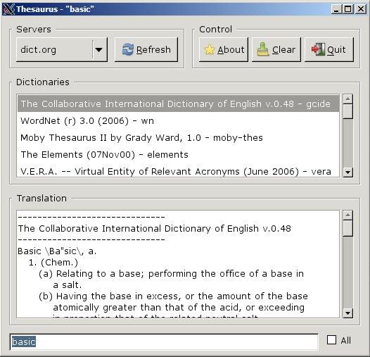 BaCon - BASIC to C converter